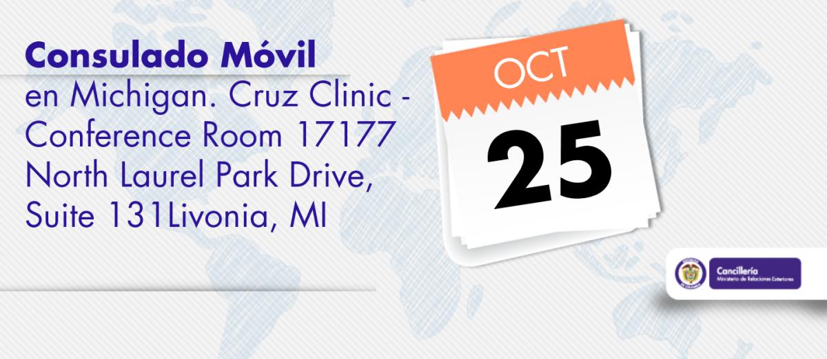 Consulado Móvil llegará a Michigan el próximo 25 de octubre ...