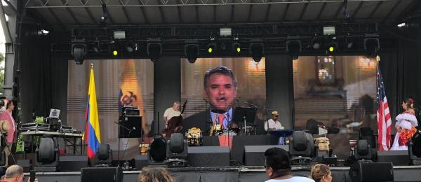 Consulado en Chicago celebró el Bicentenario de Colombia