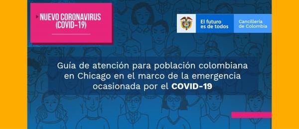 Guía de atención para población colombiana en Chicago en el marco de la emergencia ocasionada por el COVID-19