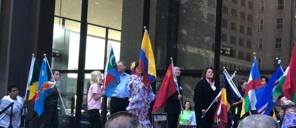 Colombia Participó en celebración del Día de la Paz en Chicago