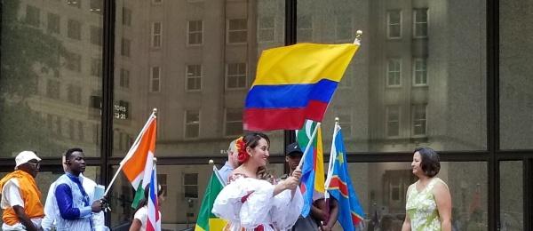 Consulado de Colombia acompañó la celebración del día de la Paz
