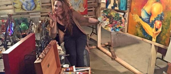 La exposición De adentro hacia afuera de la artista colombiana Katherine del Real se presenta en la UNAM