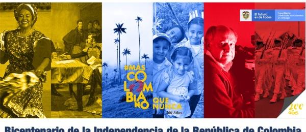 Consulado de Colombia en Chicago invita a la celebración del Bicentenario