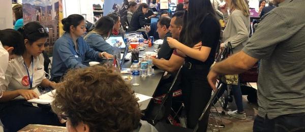 Primera Feria de Servicios para Colombianos en Chicago cierra